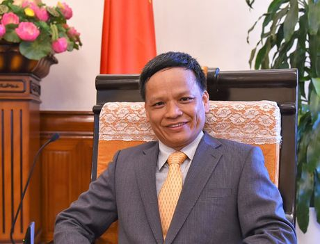 Dai su Nguyen Hong Thao trung cu Uy ban Luat phap quoc te cua Lien hop quoc - Anh 1