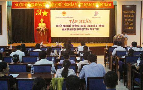 Phu Yen: Day manh van phong khong giay to, tien toi chinh phu dien tu - Anh 1