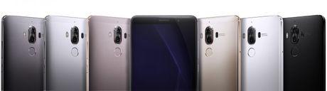 """Sieu pham Huawei Mate 9 trinh lang voi camera """"khung"""" - Anh 4"""