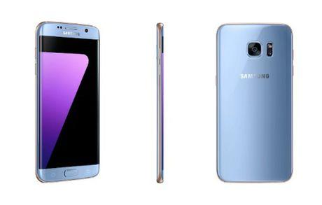 Galaxy S7 edge xanh Coral chinh thuc ra mat tai Viet Nam - Anh 1