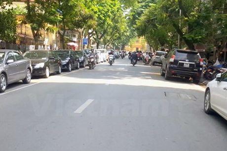 Ha Noi sap thi diem do xe theo ngay chan, le tren pho Da Tuong - Anh 1