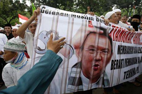 Hinh anh bieu tinh co the dan den nguy co bao loan o Jakarta - Anh 2
