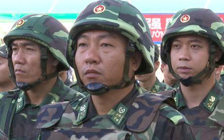 Dien tap phong chong khung bo o bien gioi Viet - Trung - Anh 2