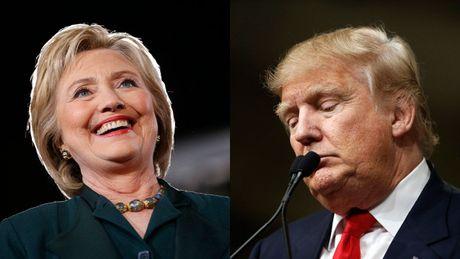 So tien cac 'sao' My ung ho ba Clinton cao gap 20 lan ong Trump - Anh 1