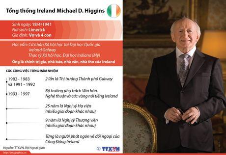 Tong thong Ireland tham cap Nha nuoc toi Viet Nam - Anh 1
