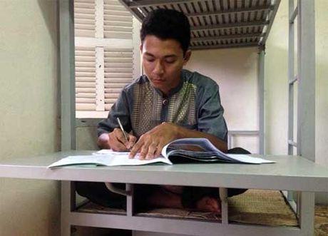Cau be Khmer lam rang ro ap Xa Lang - Anh 1