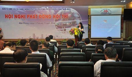 Hai Phong: Phat dong hoi thi sang tao ky thuat nha nong lan I - Anh 1