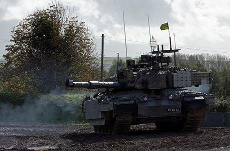 Nang cap xe tang Challenger 2, nguoi Anh biet so T-14 Armata - Anh 8