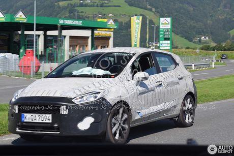 Ford Fiesta 2018 'lo hang' tren duong thu - Anh 6