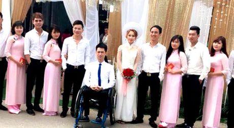 Co dau 9X quyet cuoi chang trai ngoi xe lan o Thai Nguyen - Anh 1