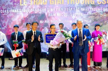 Giai thuong cho sinh vien xay dung xuat sac nhat - Anh 1