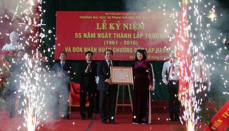 Ngay hoi cua Truong DH Su pham TDTT Ha Noi - Anh 3