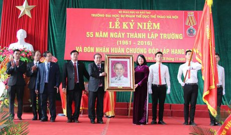 Ngay hoi cua Truong DH Su pham TDTT Ha Noi - Anh 4