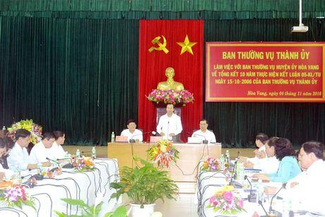 Tao co che cho Hoa Vang phat trien toan dien va ben vung - Anh 1