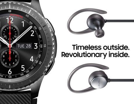 Samsung Gear S3 cho phep dat hang truoc - Anh 1