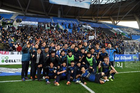 Doi bong cua Xuan Truong tru hang K-League - Anh 1