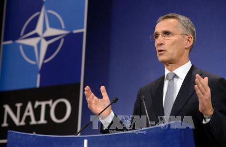 Tong Thu ky NATO thua nhan khong co cac moi de doa tu Nga - Anh 1
