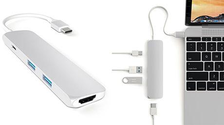 Apple tam giam gia dongle USB-C de xoa diu nguoi mua MacBook Pro - Anh 2