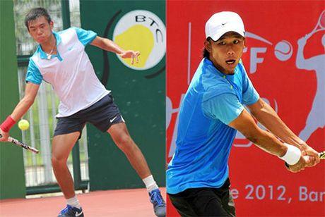 Vang doi: Hoang Nam vo dich tennis doi nam F9 Viet Nam - Anh 1