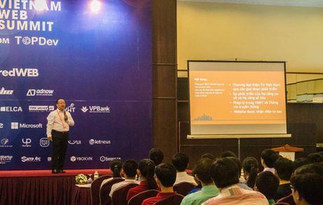 Vietnam Web Summit 2016: Ho tro cong dong khoi nghiep tren moi linh vuc - Anh 2