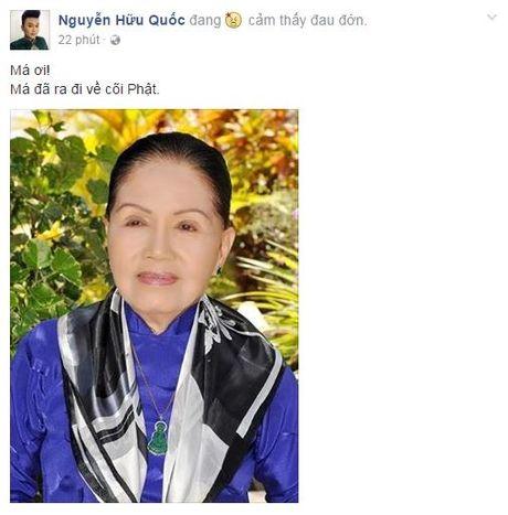 Nghe si Ut Bach Lan qua doi: Sao Viet khoc thuong cay dai thu lang Cai Luong - Anh 1