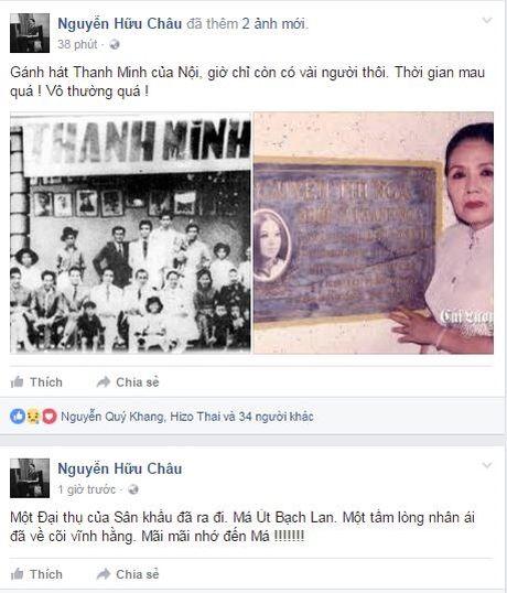 Nghe si Ut Bach Lan qua doi: Sao Viet khoc thuong cay dai thu lang Cai Luong - Anh 2