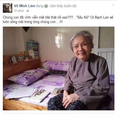 Nghe si Ut Bach Lan qua doi: Sao Viet khoc thuong cay dai thu lang Cai Luong - Anh 6