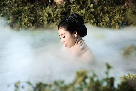 Sao Mai Thu Hang ke cau chuyen than tien trong MV moi - Anh 2