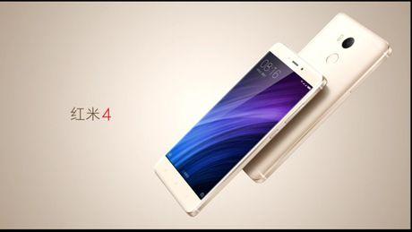 Xiaomi Redmi 4/4A moi: van tay, pin 4.100mAh, gia re - Anh 1
