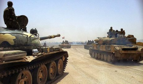 'Ho Syria', Dieu hau sa mac be gay cuoc tan cong thanh chien o Aleppo (video) - Anh 1