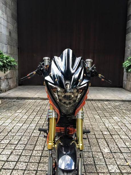 Xe no Suzuki Rider 150 do loat hang hieu dat tien tren xe - Anh 4