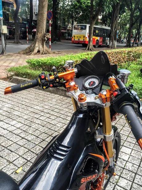 Xe no Suzuki Rider 150 do loat hang hieu dat tien tren xe - Anh 5