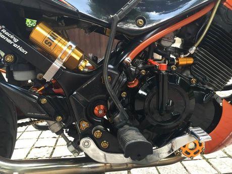 Xe no Suzuki Rider 150 do loat hang hieu dat tien tren xe - Anh 9