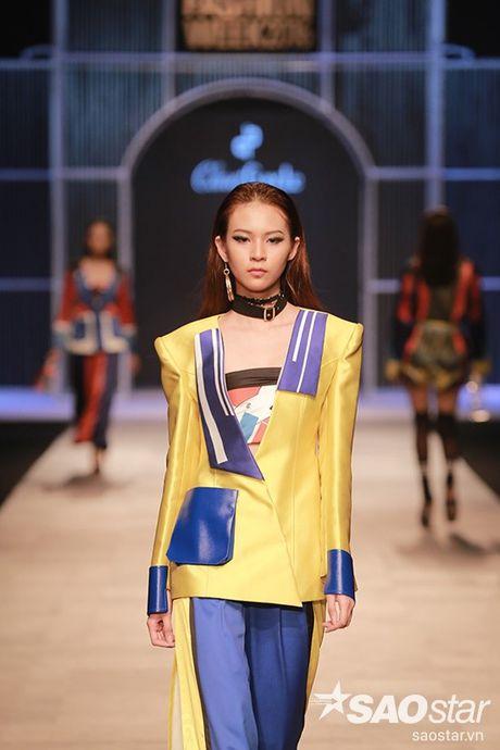 Phi Phuong Anh sieu ngau mo man BST cua NTK Claret Giang Le tai VIFW - Anh 5