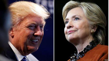 So sanh chinh sach kinh te cua Clinton-Trump - Anh 1