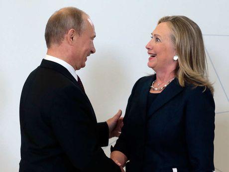 Hillary Clinton, nguoi cuc ky gay gat voi ong Putin - Anh 1