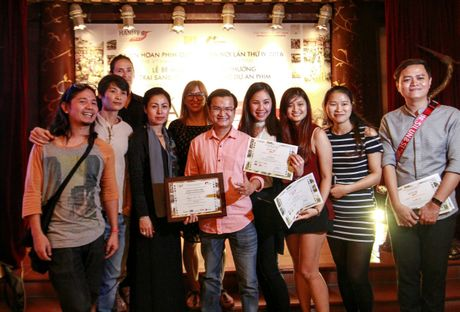 Hai du an phim duoc trao giai tai Cho du an - Anh 1