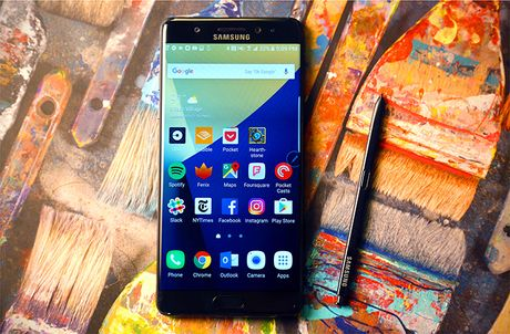 Samsung chan Galaxy Note 7 ket noi voi mang vien thong - Anh 1