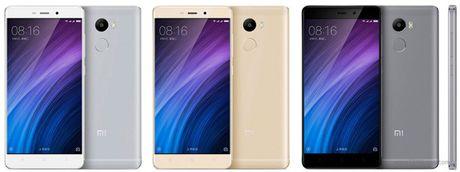 Xiaomi ra mat 3 smartphone gia re dong Redmi 4 - Anh 4