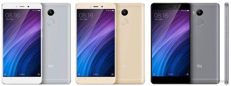 Xiaomi ra mat 3 smartphone gia re dong Redmi 4 - Anh 5