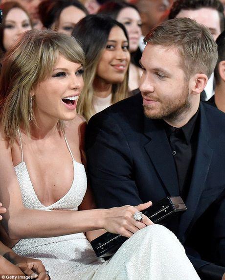 Calvin Harris bat ngo khen Taylor Swift sau chia tay - Anh 2