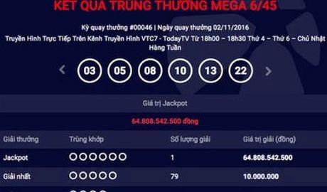 Vi sao nguoi trung xo so Vietlott 65 ty dong chua dam nhan thuong? - Anh 1