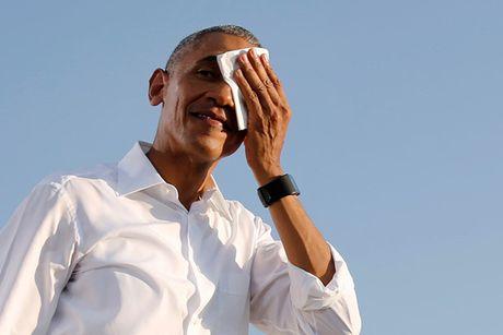 Giot mo hoi Tong thong Obama van dong cho ba Clinton vao top anh tuan - Anh 1