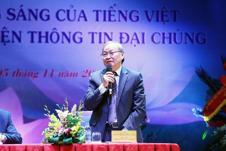 Hinh anh: VOV to chuc hoi thao ve Giu gin su trong sang cua tieng Viet - Anh 10