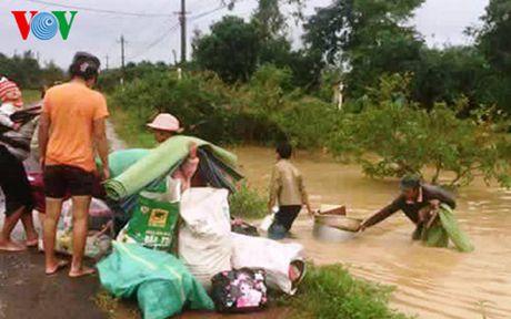 Cac tinh Nam Trung Bo, Tay Nguyen thiet hai nang ne do mua lu - Anh 5
