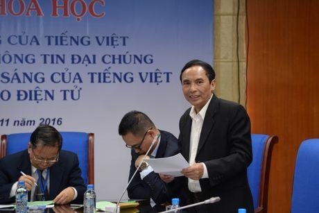 Toan canh Hoi thao khoa hoc 'Giu gin su trong sang cua tieng Viet...' - Anh 17