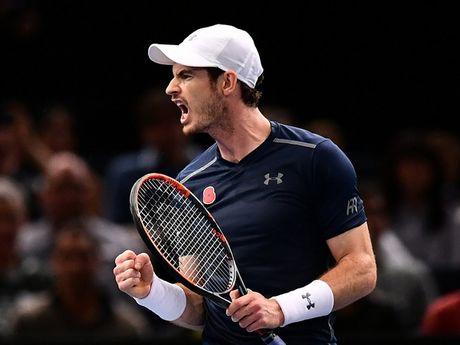 Andy Murray chinh thuc soan ngoi so 1 cua Novak Djokovic - Anh 1