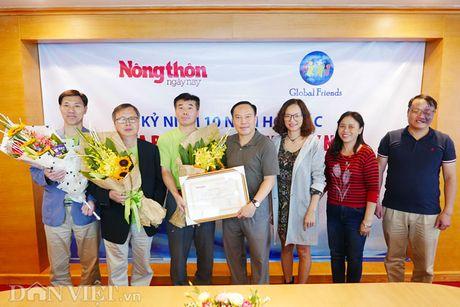 Bao dien tu Dan Viet - To chuc Global Friends: 10 nam 1 hanh trinh thien nguyen - Anh 1