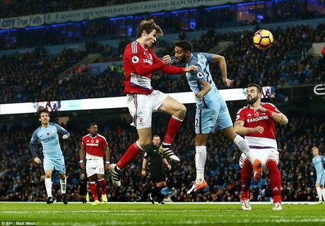 Roi diem truoc Middlesbrough o phut bu gio, Man City mat luon ngoi dau - Anh 4