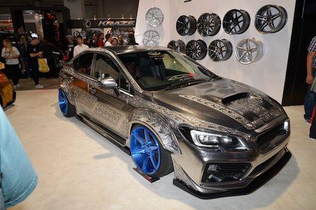 Ngam Subaru WRX STI 'xam tro' doc nhat The gioi - Anh 1